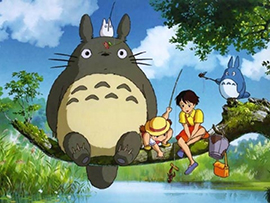 Japanese Cinema with the Studio Ghibli films